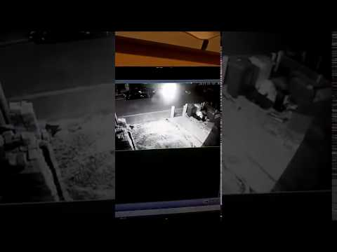 Stranger Zone - UFO Landing Filmed On Security Camera