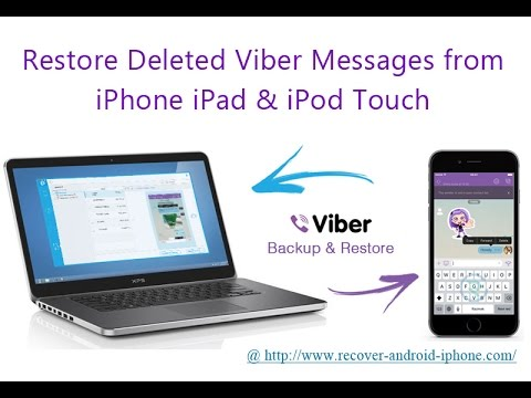 restore deleted messages on my ipad