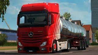 [1.30] Euro Truck Simulator 2   Mercedes Actros 2014 Low Chassis   Mods