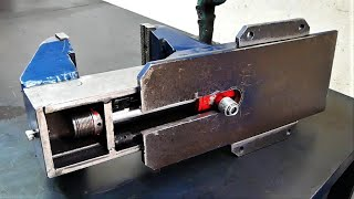 Making The Hydraulic VISE DIY [Plans]