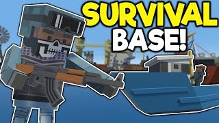 Bandits Attack Survival Base in Sinking City! - Tiny Town VR Gameplay - HTC Vive VR Game