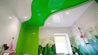 видео Красивый и влагостойкий – варианты потолка в ванной