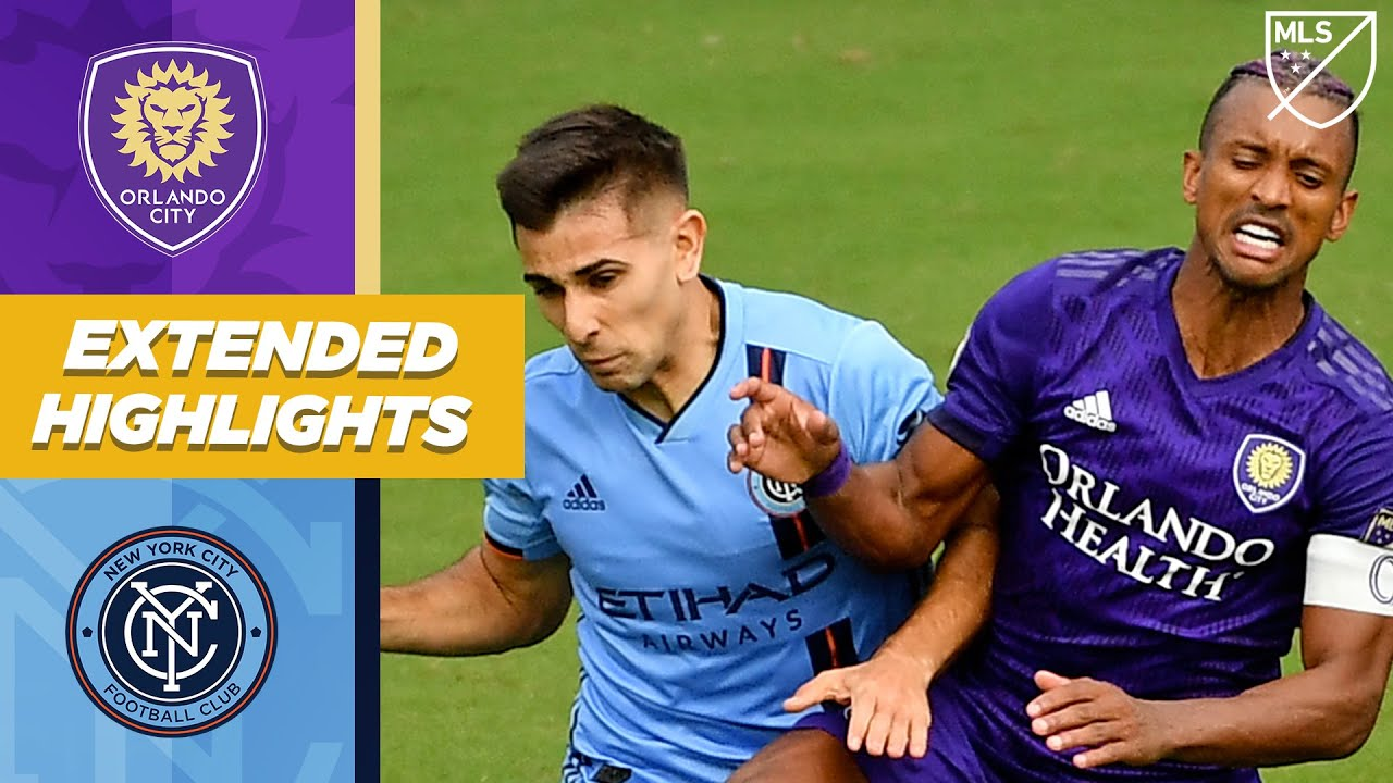 Orlando City SC vs. New York City FC | November 21, 2020 | MLS Highlights