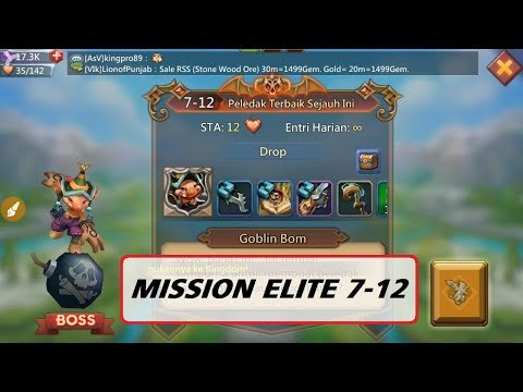 Kombinasi Hero MISI ELIT 7-12 (Mission ELITE 7-12) _ LORDS MOBILE