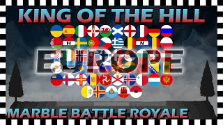 King of the Hill Europe - Marble Battle Royale - Algodoo