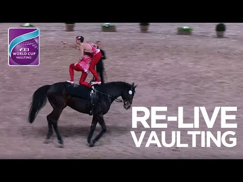 RE-LIVE | FEI World Cup™ Vaulting - 1st competition | Leipzig
