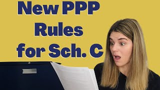 New rules for Schedule C PPP Loan applicants - Now use Gross Income! {FREE CALCULATION DOWNLOAD}