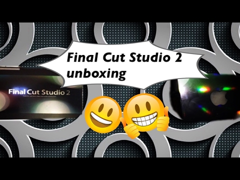 Final Cut Studio 2 Unboxing Video