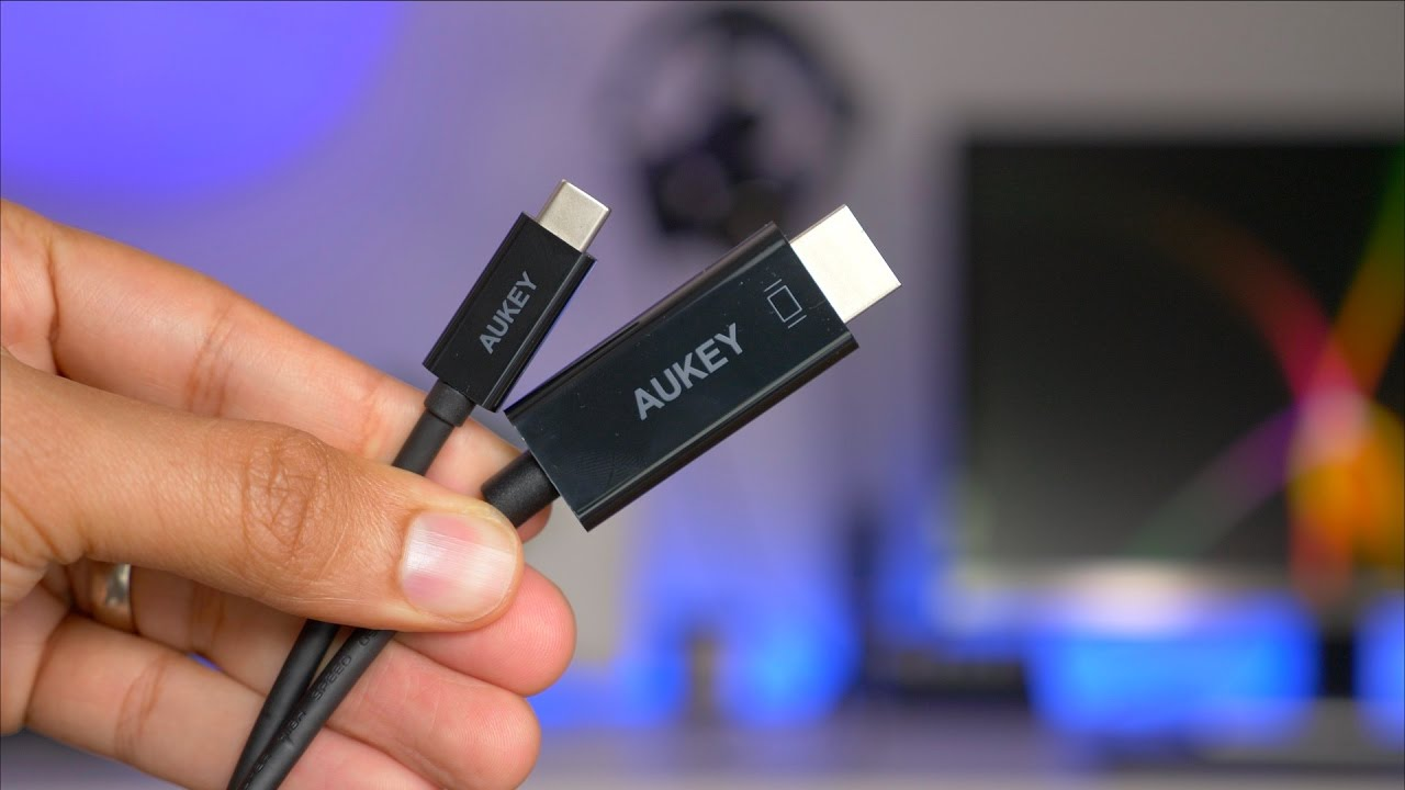 Aukey U0026 39 S Usb-c To Hdmi Cable