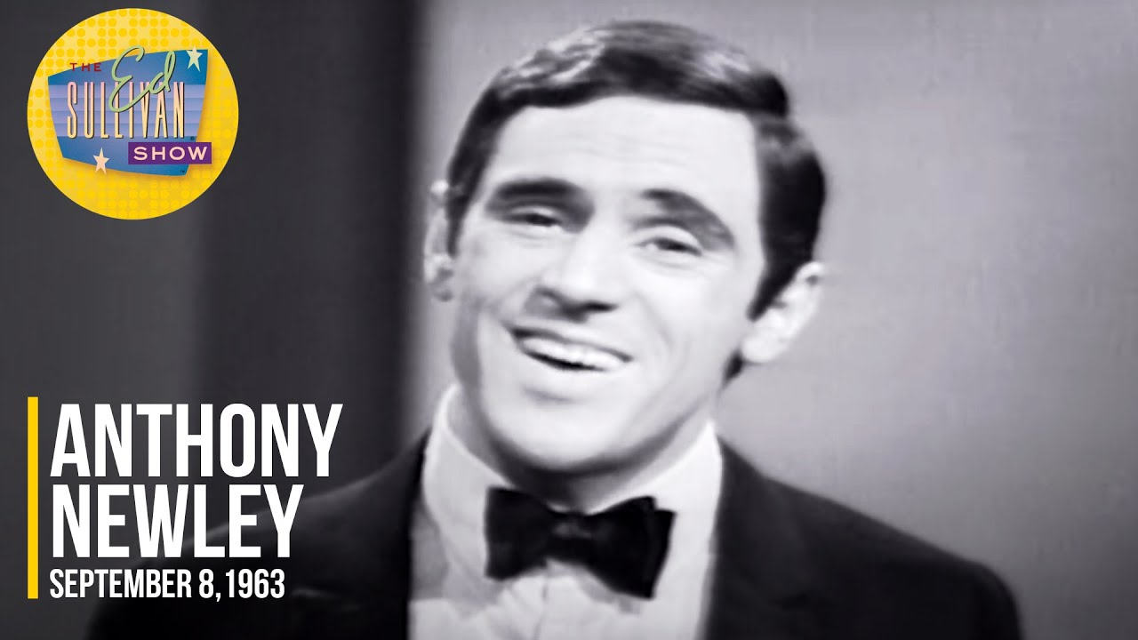 """Anthony Newly """"Pop Goes the Weasel"""" on The Ed Sullivan Show"""