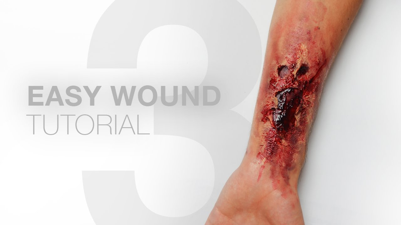 3 easy wounds without liquid latex makeup tutorial alexander 3 easy wounds without liquid latex makeup tutorial alexander kopainski youtube baditri Choice Image