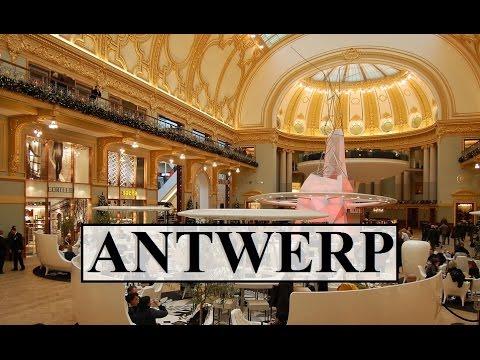 Belgium/Antwerp (Meir shopping Center-Walking tour 4)   Part 21
