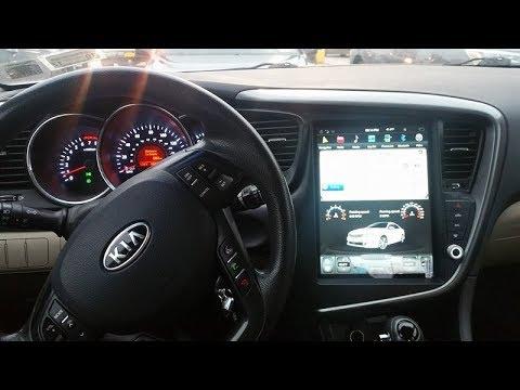 Kia Optima K5 Tesla Style Android Radio Installed YouTube