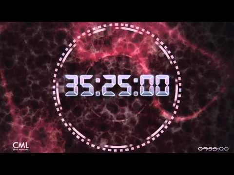 45 Minutes Deluxe Countdown with SFX and Voice Over 1080p