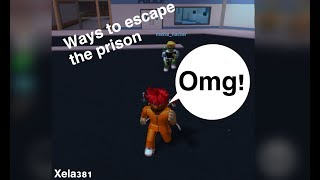 Escape Prison Obby In Roblox Sneaking In A Keycard Roblox Escape Prison Obby Apphackzone Com
