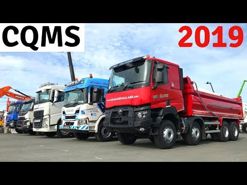 The Big Construction & Quarry Machinery Show 2019 Truck Test Drives!