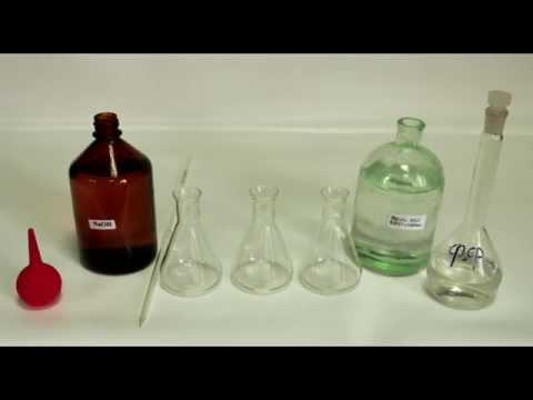 Приготовление рабочего раствора NaOH и его стандартизация по щавелевой кислоте