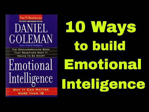 Emotional Intelligence by Daniel Goleman | Book Summary and