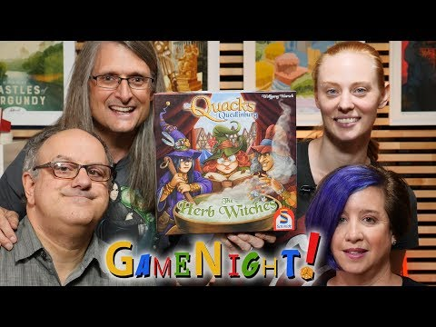 The Quacks of Quedlinburg: The Herb Witches - GameNight! Se7 Ep24 - How to Play and Playthrough