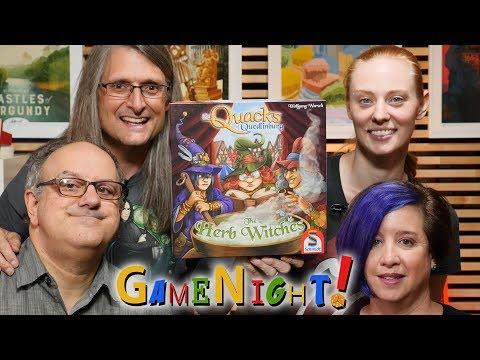 The Quacks Of Quedlinburg: The Herb Witches - GameNight! Se7 Ep24