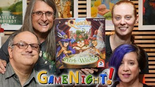 The Quacks of Quedlinburg: The Herb Witches - GameNight! Se7 Ep24