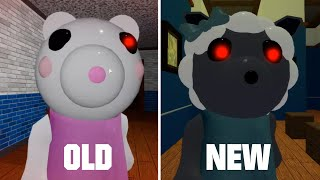ROBLOX PIGGY OLD SHEEPY vs NEW SHEEPY [COMPARISON]