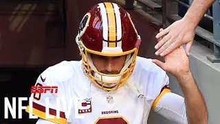 Is Kirk Cousins Committed To The Redskins? | NFL Live | ESPN thumbnail