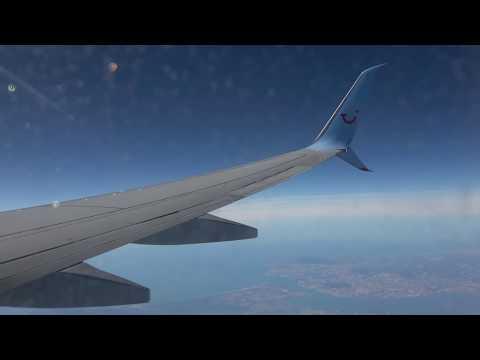Amsterdam to Las Palmas - TUI 737-800 - FULL flight (4K)