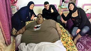 500 kilogram woman lifted by a crane, arrives in India for treatment