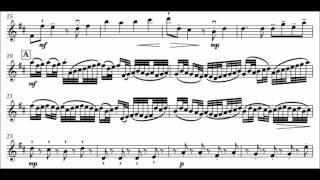 Canon, Cello accompaniment only