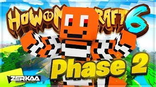 🔴 THE RETURN OF HOW TO MINECRAFT - PHASE 2! (How To Minecraft LIVE)