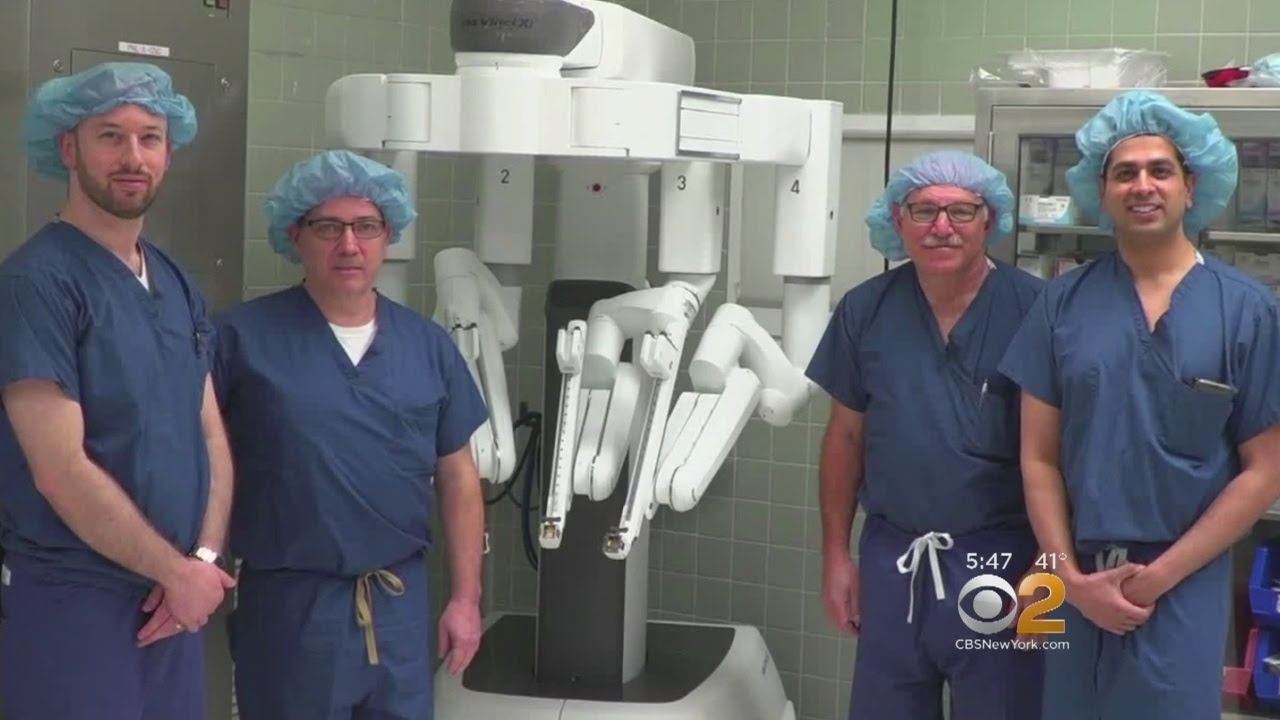 Double Mastectomy And Breast Reconstruction Performed Using A Robot