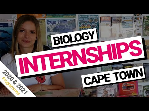 Biology Internships Cape Town, South Africa (2018 & 2019)