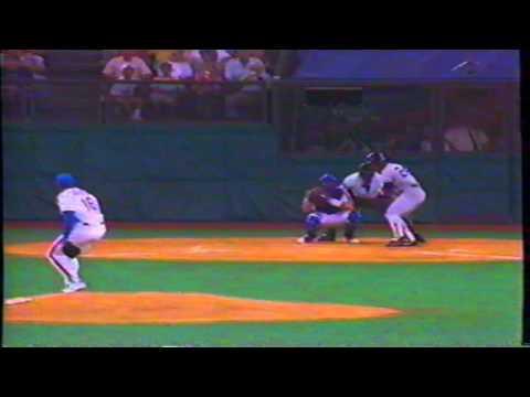 1988 All Star Game: Rickey Henderson vs. Dwight Gooden