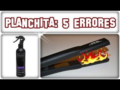 5 errores que cometemos al planchar el cabello peinados para hombre plancha de cabello youtube - Fundas termicas para planchas de pelo ...
