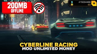 Download Game Android : Cyberline Racing (Mod Unlimited Money)