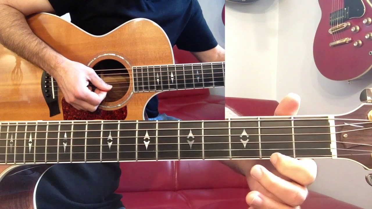 Born In The Usa Chords And Riff Easy Youtube