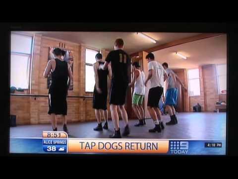Adam Garcia Tap Dogs Sydney 301210.wmv