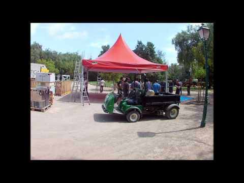 jaima 6x6 para festival del palo alto market