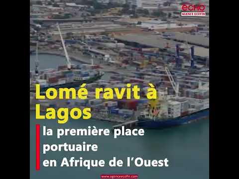 Le port de Lomé devient le 1er port à conteneurs d'Afrique de l'Ouest grâce aux réformes.