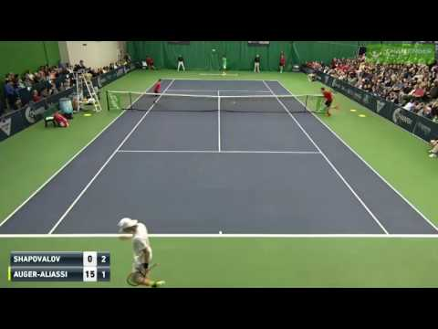 Denis Shapovalov vs Felix Auger Aliassime FULL MATCH Challen