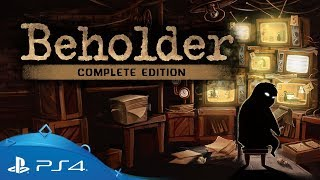 Beholder Complete Edition | Little Pal Announce Trailer | PS4