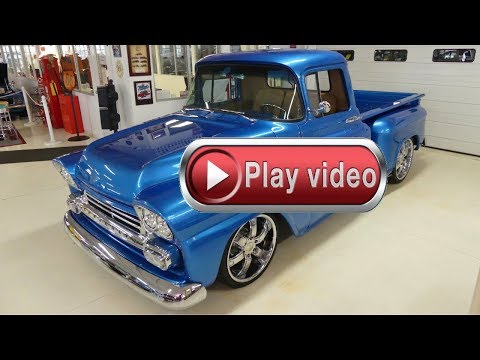 1959 Chevrolet Apache Pickup Beautiful!!