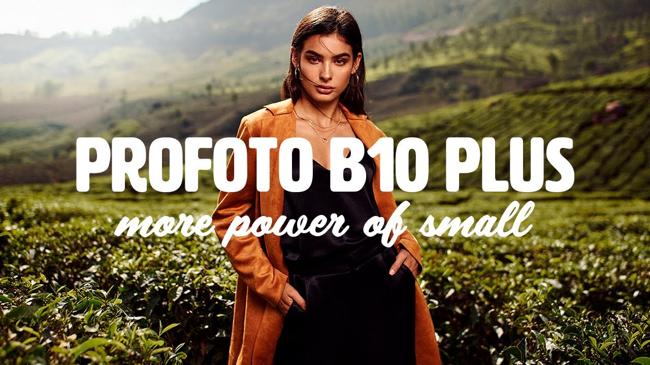Profoto B10 Plus with Marie Bärsch