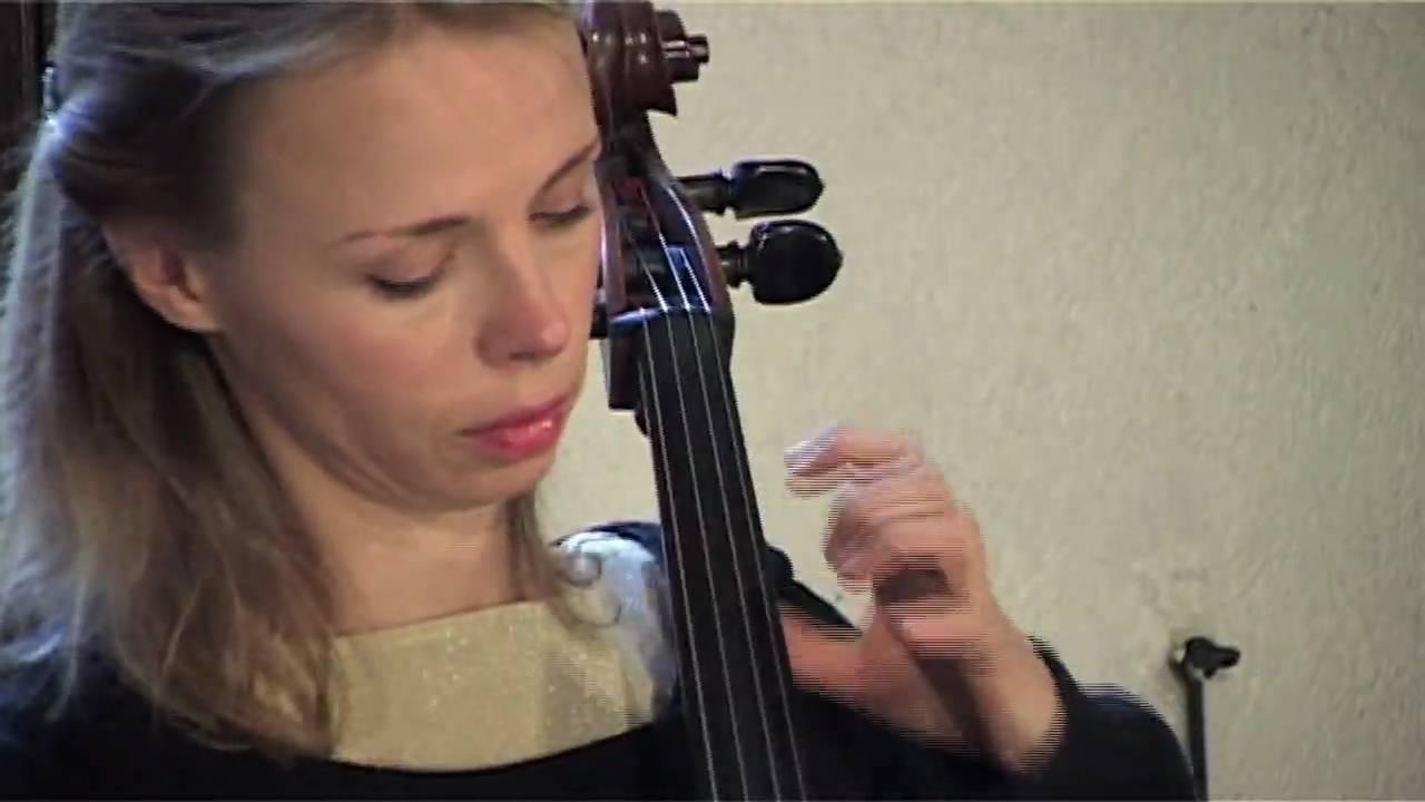 JS Bach - 1e Suite pour Violoncelle Seul, Prélude
