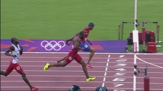 Sanchez, Culson & Tinsley Win 400m Hurdles Heats - Replay - London 2012 Olympics