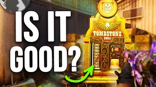 THINK TWICE BEFORE BUYING TOMBSTONE 💀 (Cold War Zombies New Perk Explained)