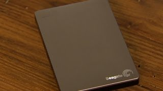 The Seagate Backup Plus Slim is the skinniest 2TB portable drive