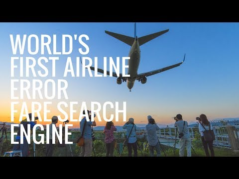 Airline Error Fare Search Engine Launched By CheapFlightsFinder