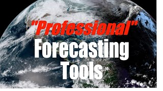 I'm a meteorologist and full time cruiser. These are my forecasting tools.
